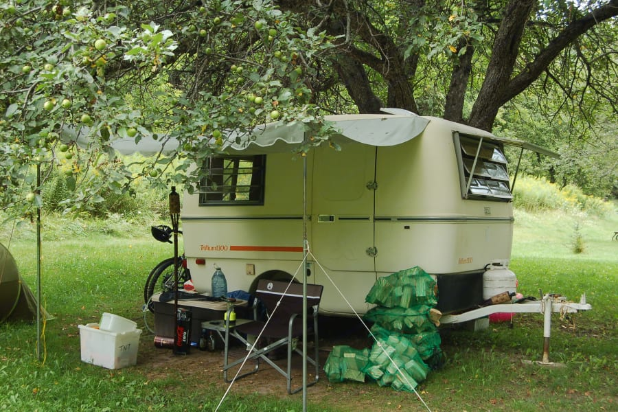 Camping in Albion Hills