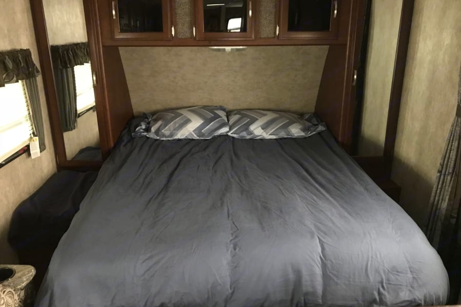 Full Queen size upgraded mattress brand new with waterproof mattress pad. Comes with one set of sheets, pillow cases and 4 pillows.