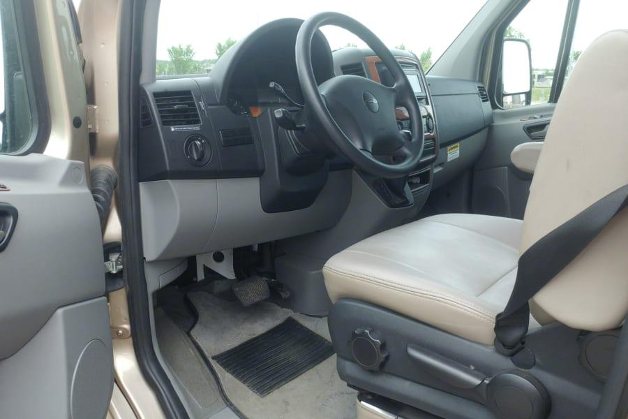 Driver's Side with Door Open.