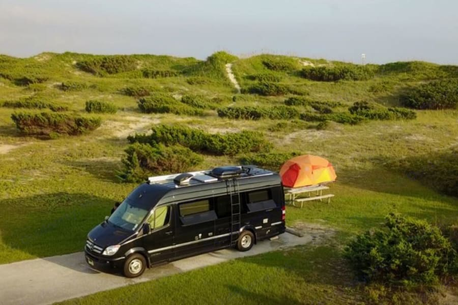Ocracoke National Seashore + Halo 4 Person Tent