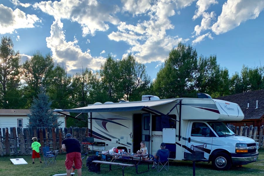 2019 Coachman Freelander (Gypsy Girl) 28' overall