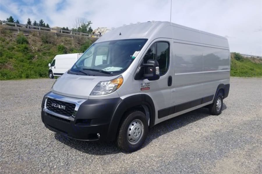 """2019 Ram Promaster 159"""" wheel base, high roof. You can stand up inside!"""