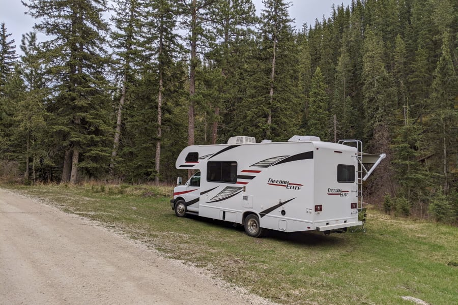 Boondocking in the Black Hills
