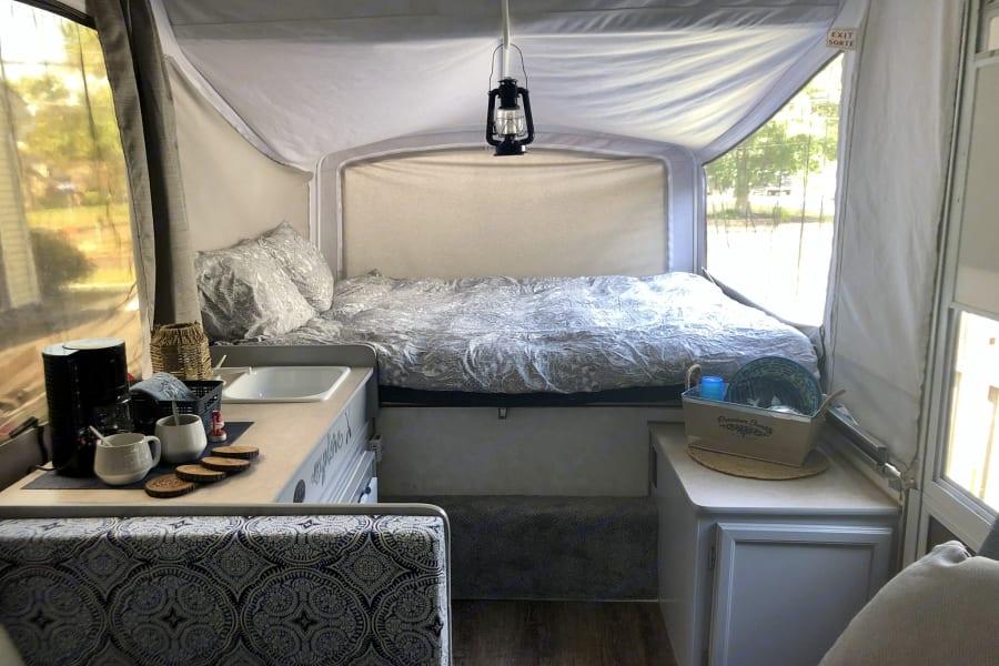 Queen bunk (linens not included)