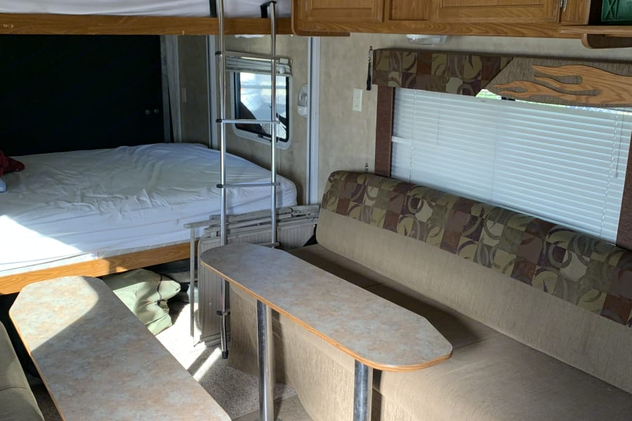 Couch/beds w/2 removable tables