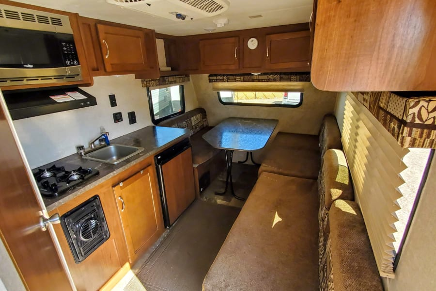 Very well thought out interior with all the essentials