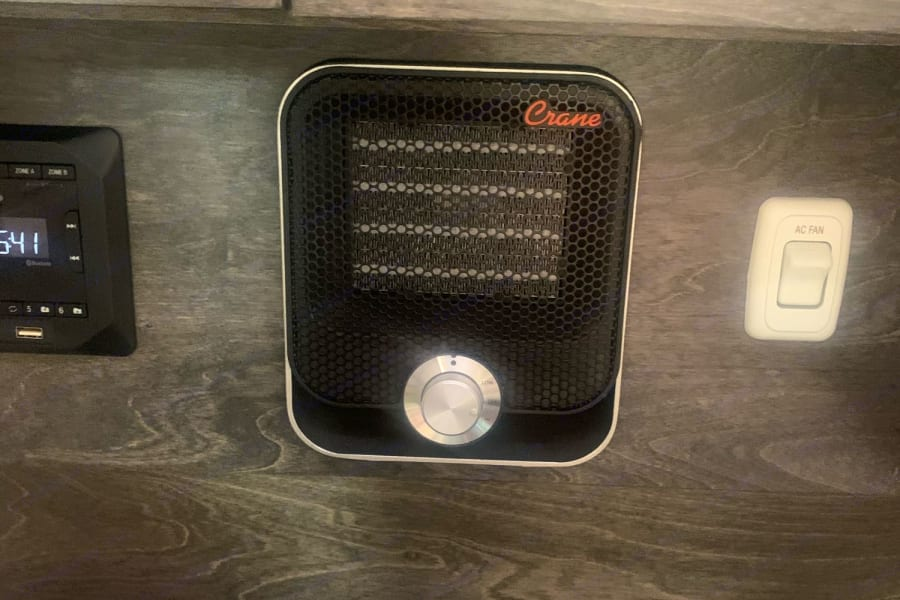 Remote control heat