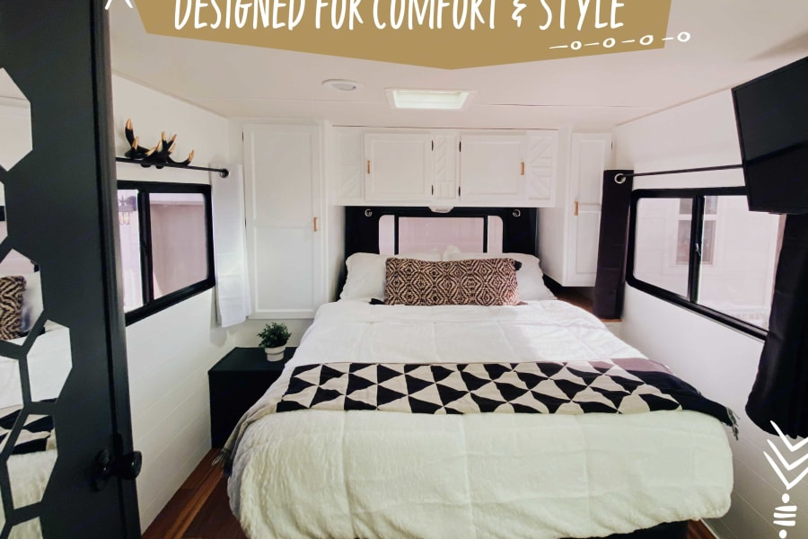 A fresh, comfortable space that might just be your favorite part of the journey.