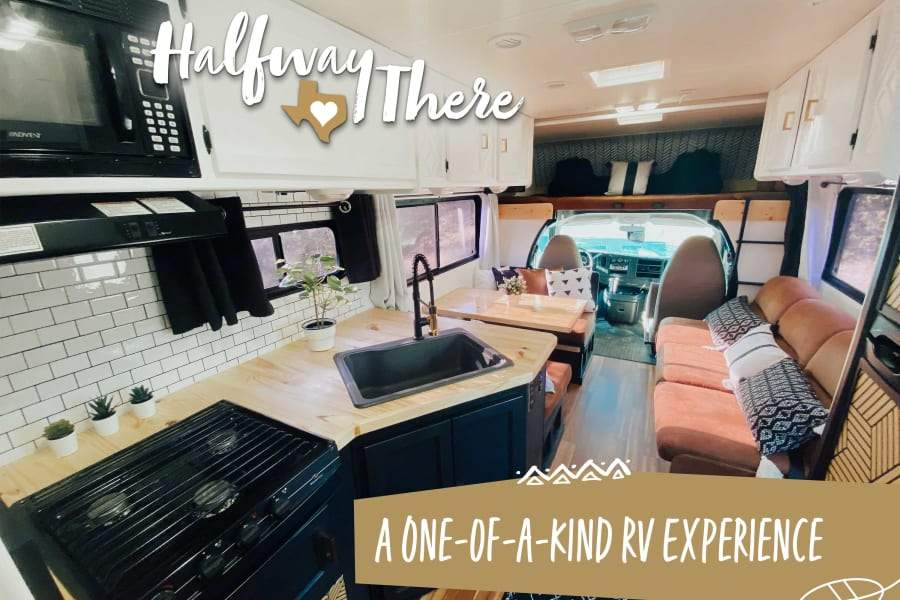 The journey is part of the experience so why not travel in style and luxury in our one-of-a-kind custom remodeled RV?