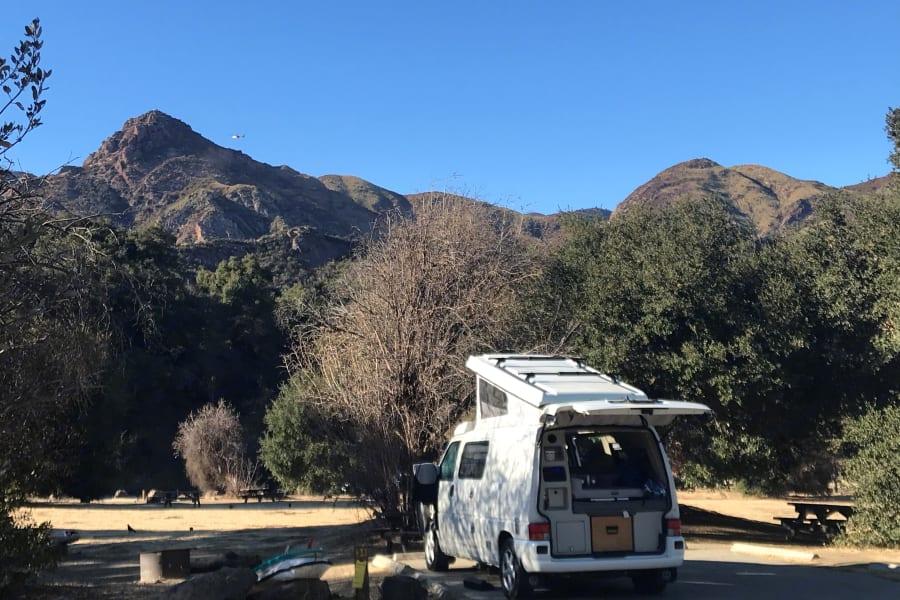 Camping in Malibu Creek State Park, Malibu, CA