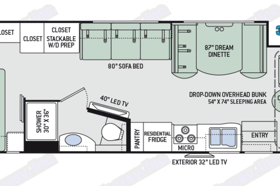 This is the floor plan. Spacious all over!