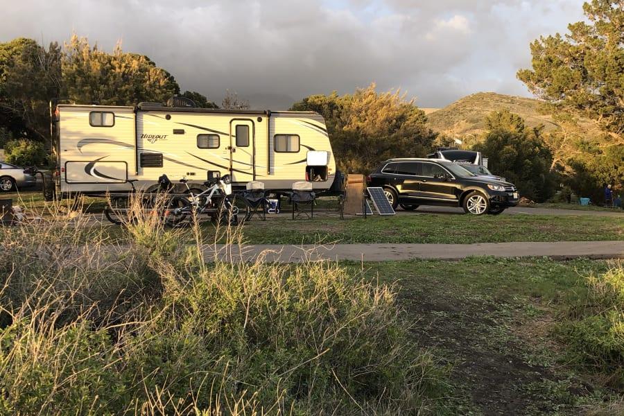 Heres a shot of us camping at El Capitan site 107!