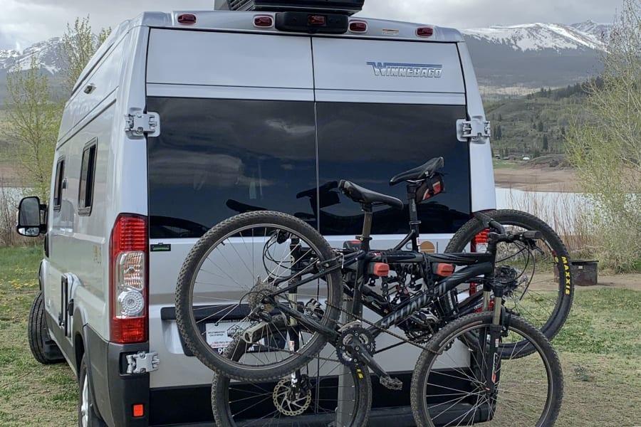 Easily add a bike rack