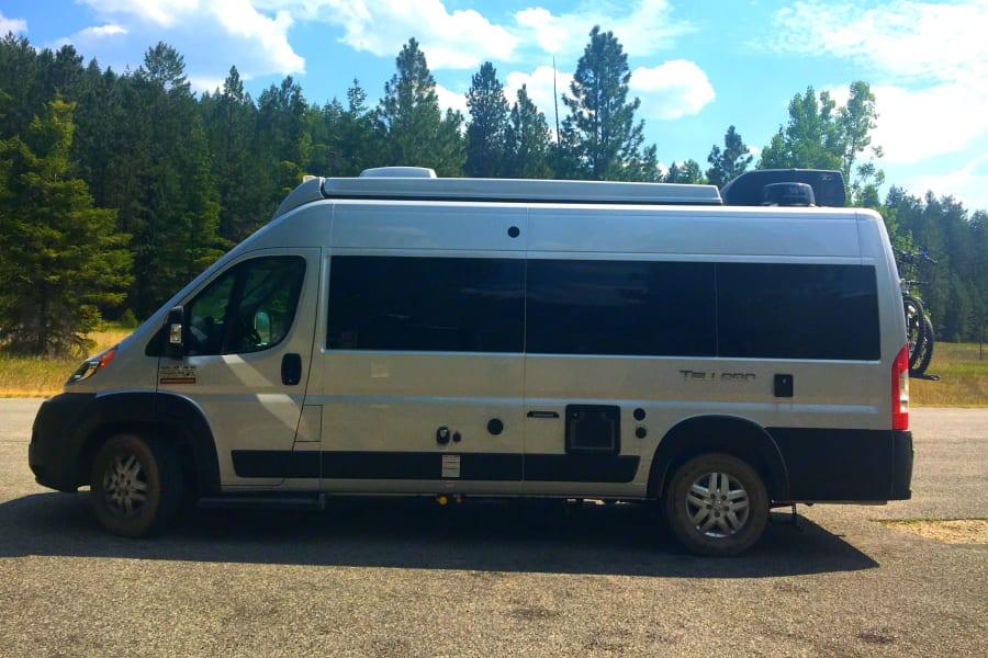 Maiden voyage in Montana