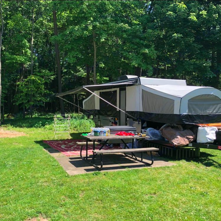 Actual camping :)