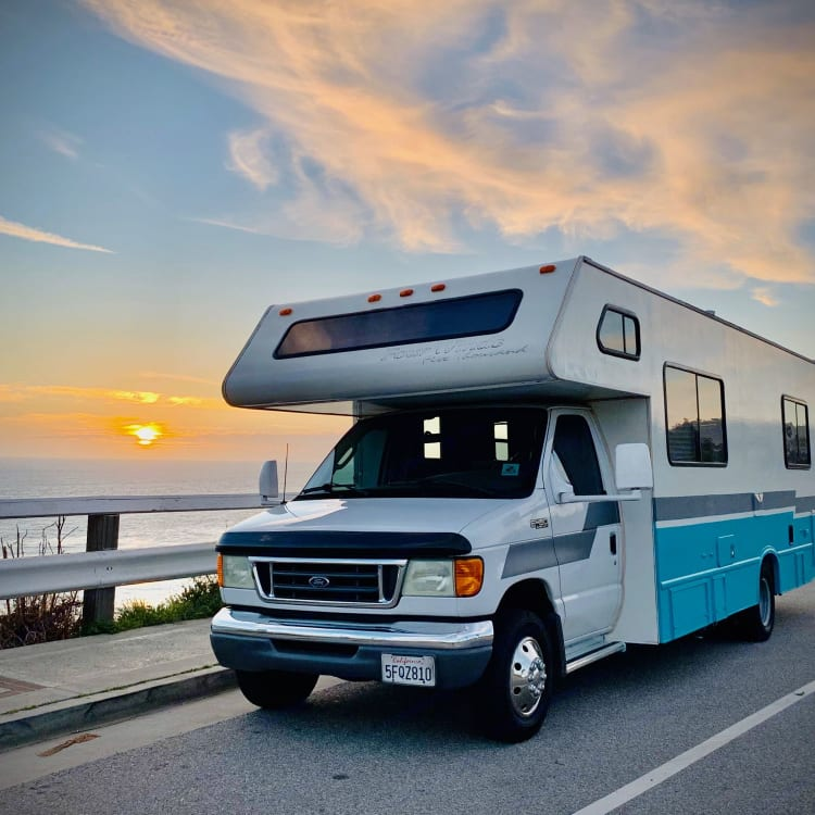 Cruise the California Coast, Mountains or Desert and turn heads with this custom C class RV