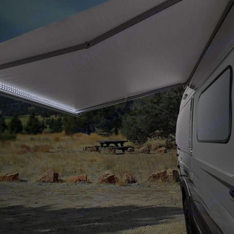 Auto awning and lighting