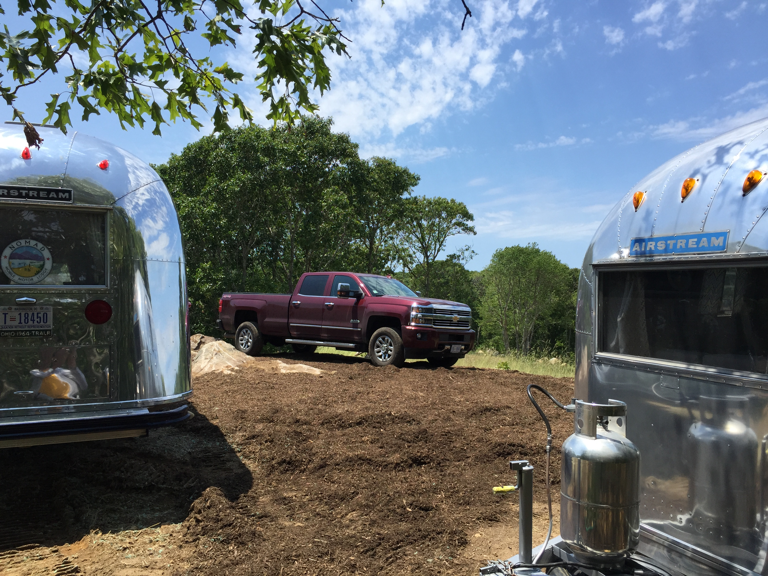 At Martha's Vineyard. Chevrolet Silverado 3500 High Country Duramax 2016