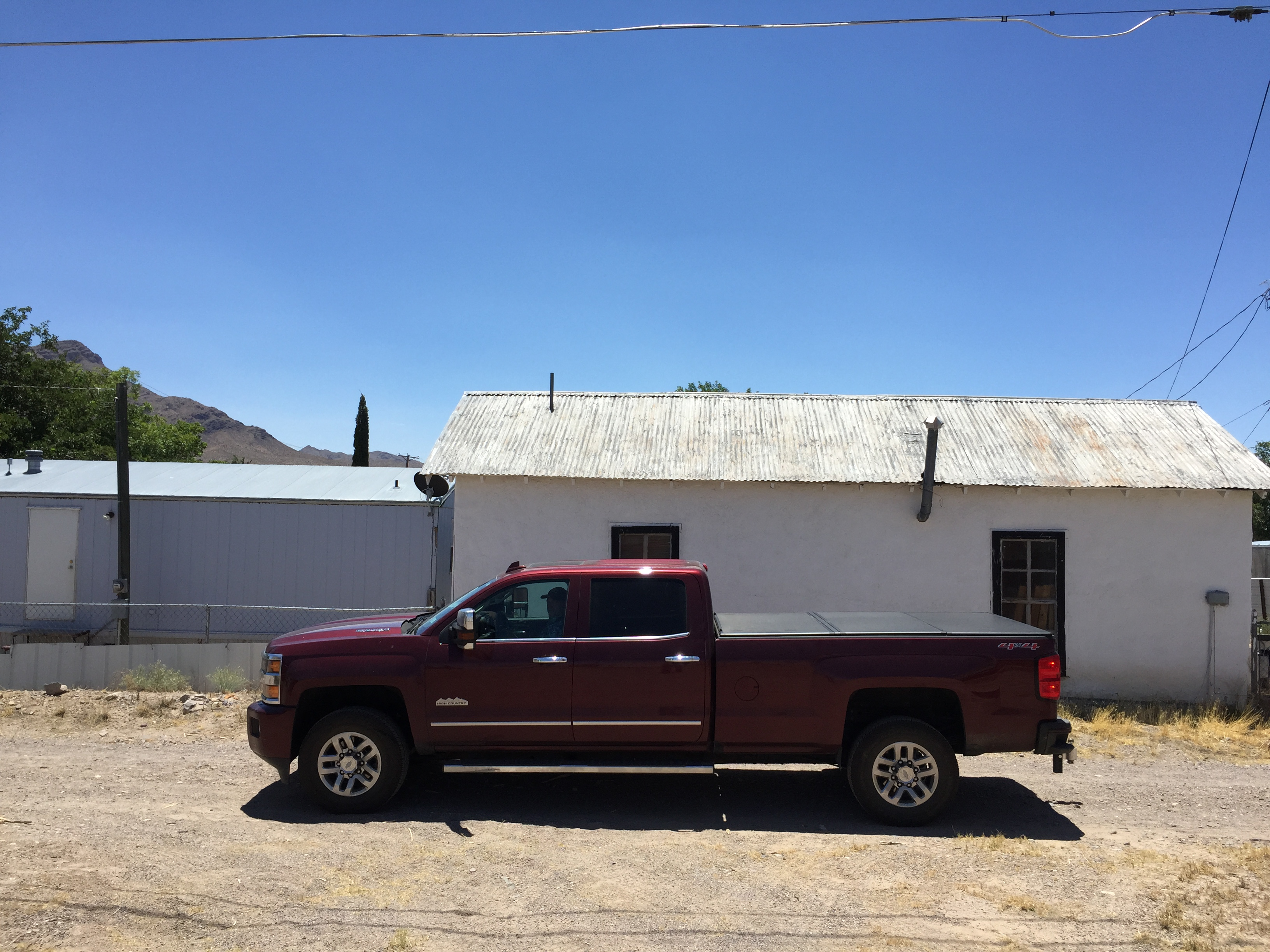 In Truth or Consequences, New Mexico.. Chevrolet Silverado 3500 High Country Duramax 2016