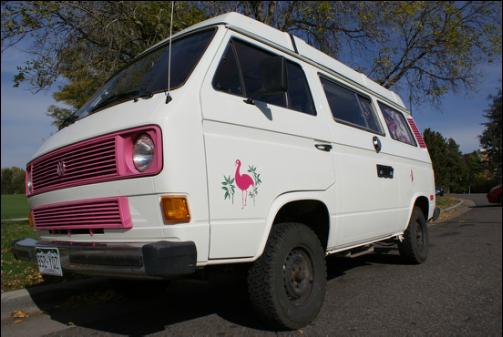 Volkswagen Vanagon Camper 1984