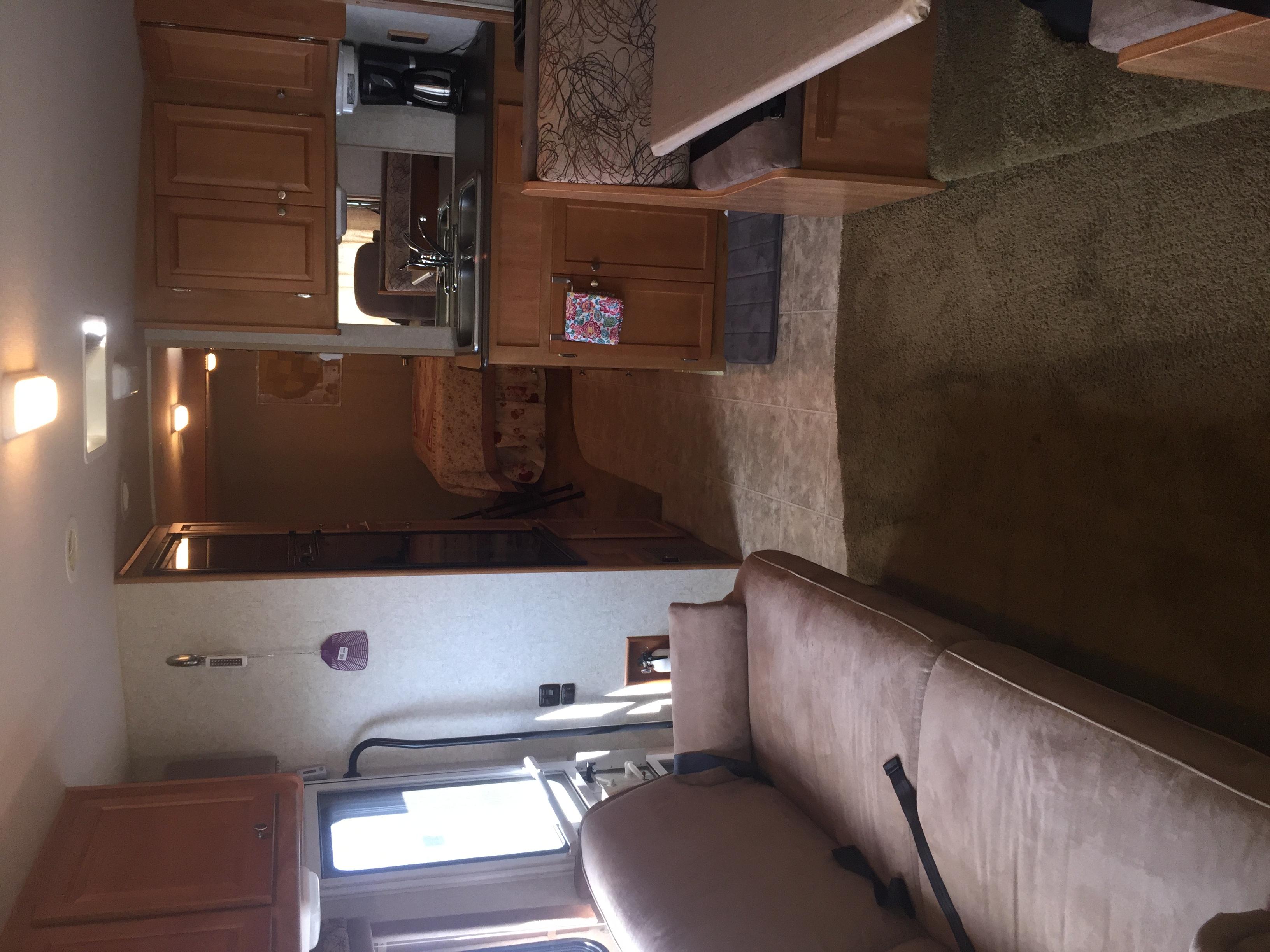 main living area and kitchen. Winnebago Vista 2008