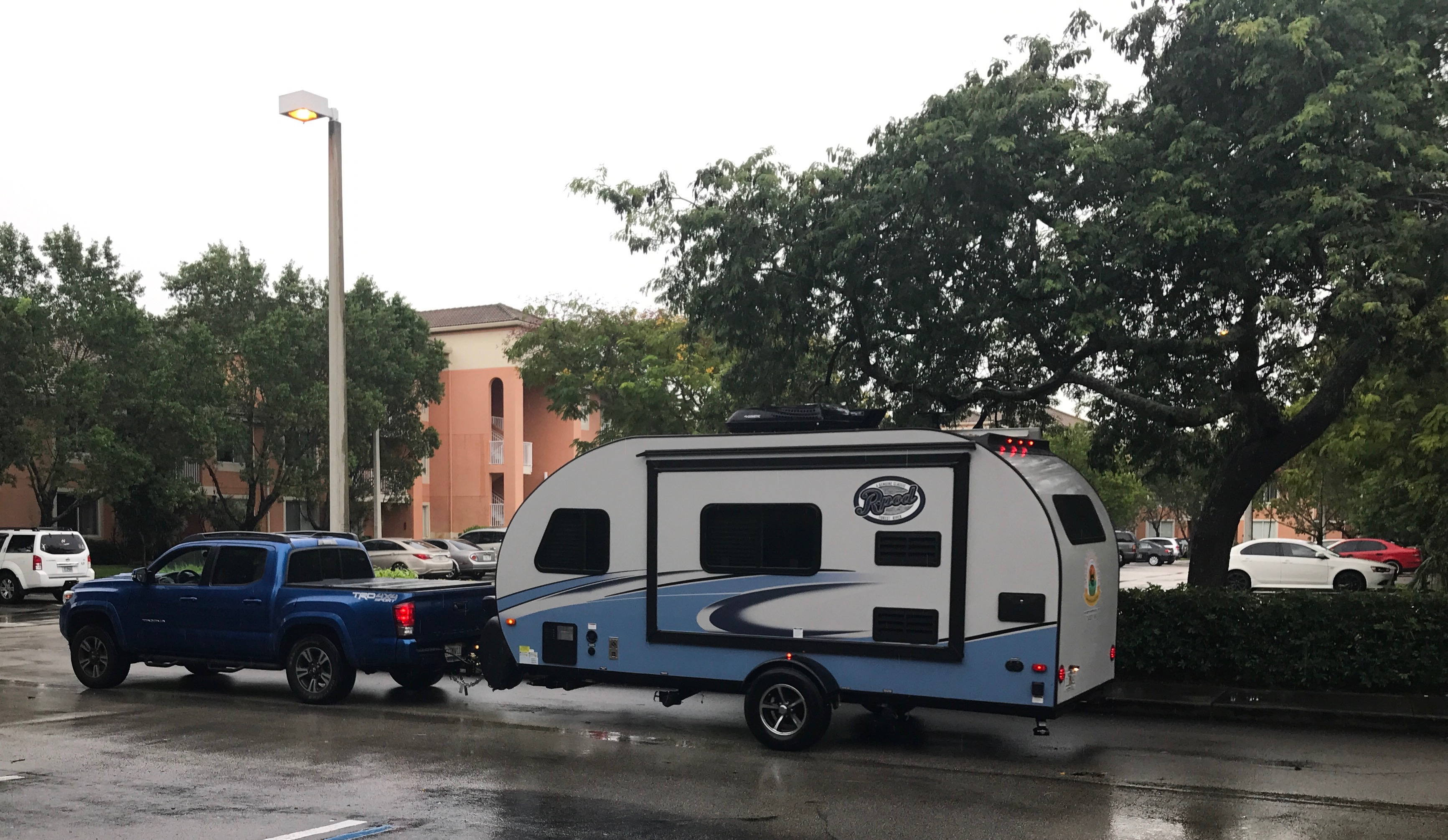 Where will your next adventure take you? -Actual travel trailer setup!