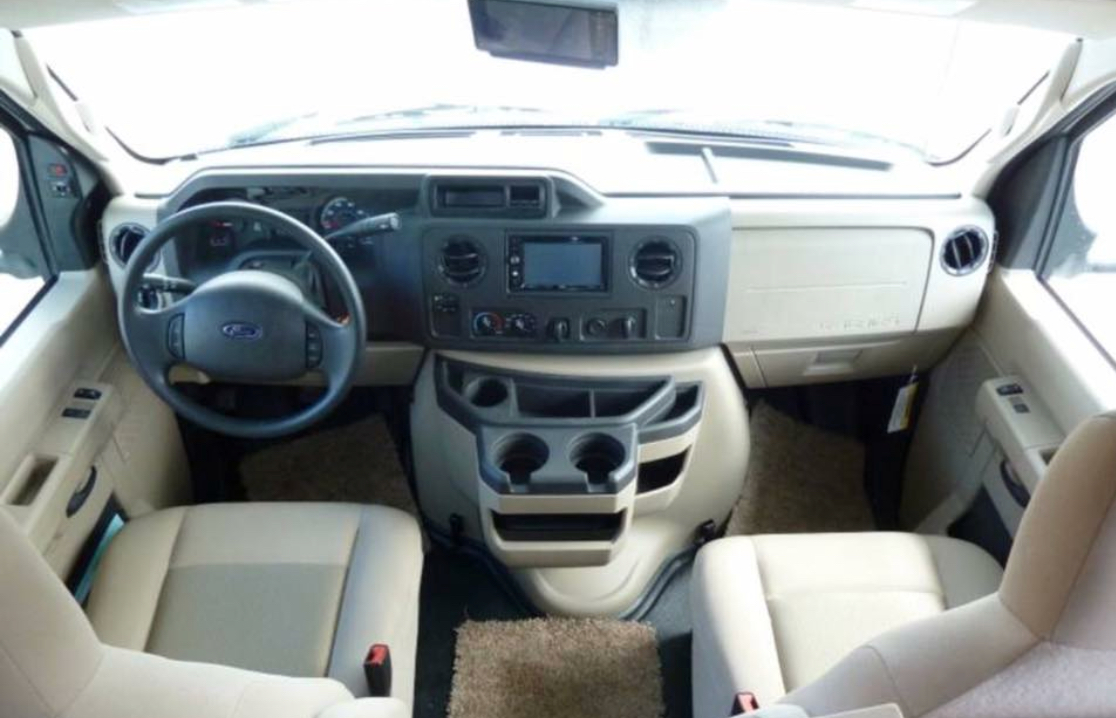 Blue tooth capable head unit with navigation. Forest River Sunseeker 2017