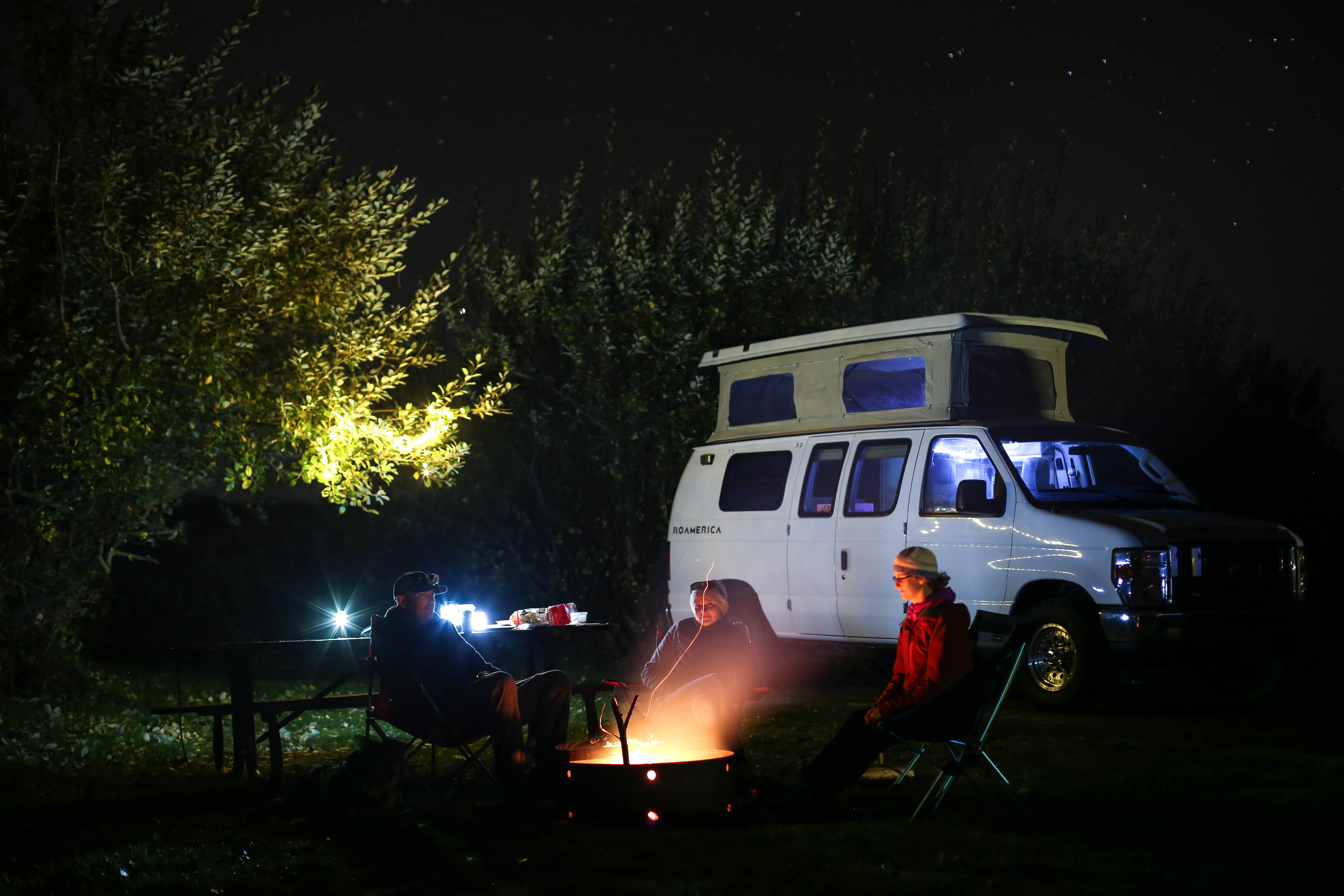 Setting up camp has never been easier!