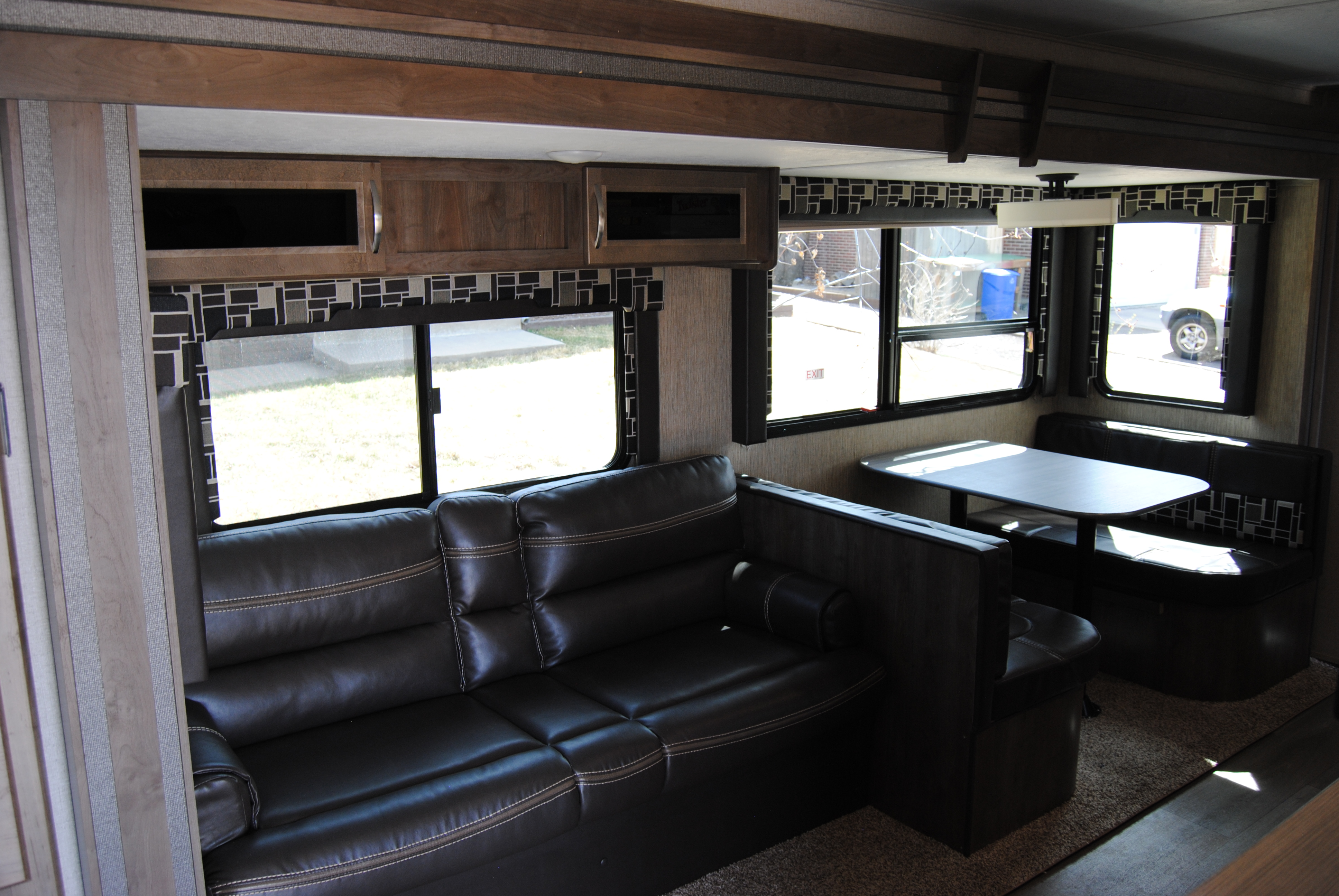 Couch and Dinette both convert to beds