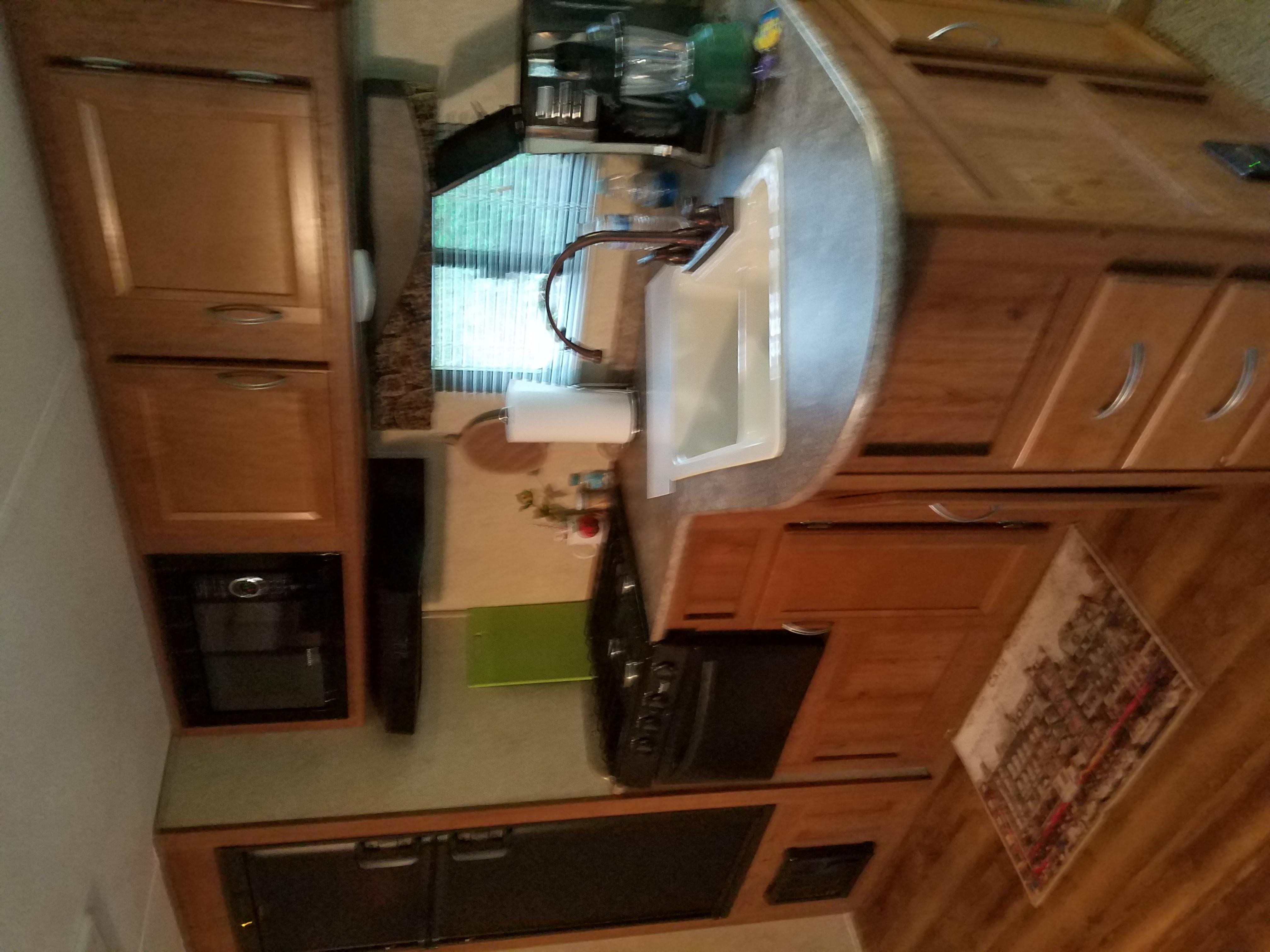 Nice kitchen.