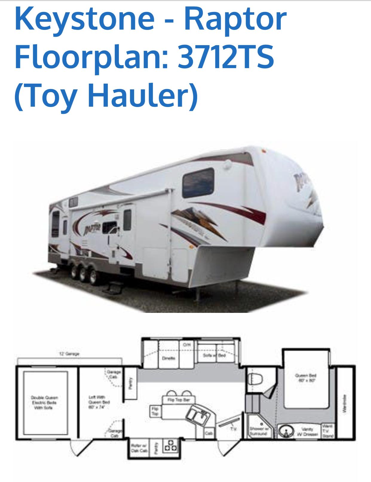 Top 25 Melba Id Rv Rentals And Motorhome Outdoorsy Raptor Toy Hauler Wiring Diagram