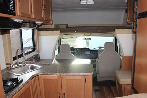 A lot of storage inside and out. Coachmen Freelander 2013