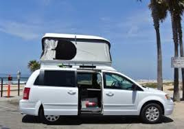 Shown with Penthouse open. Chrysler Town & Country 2010