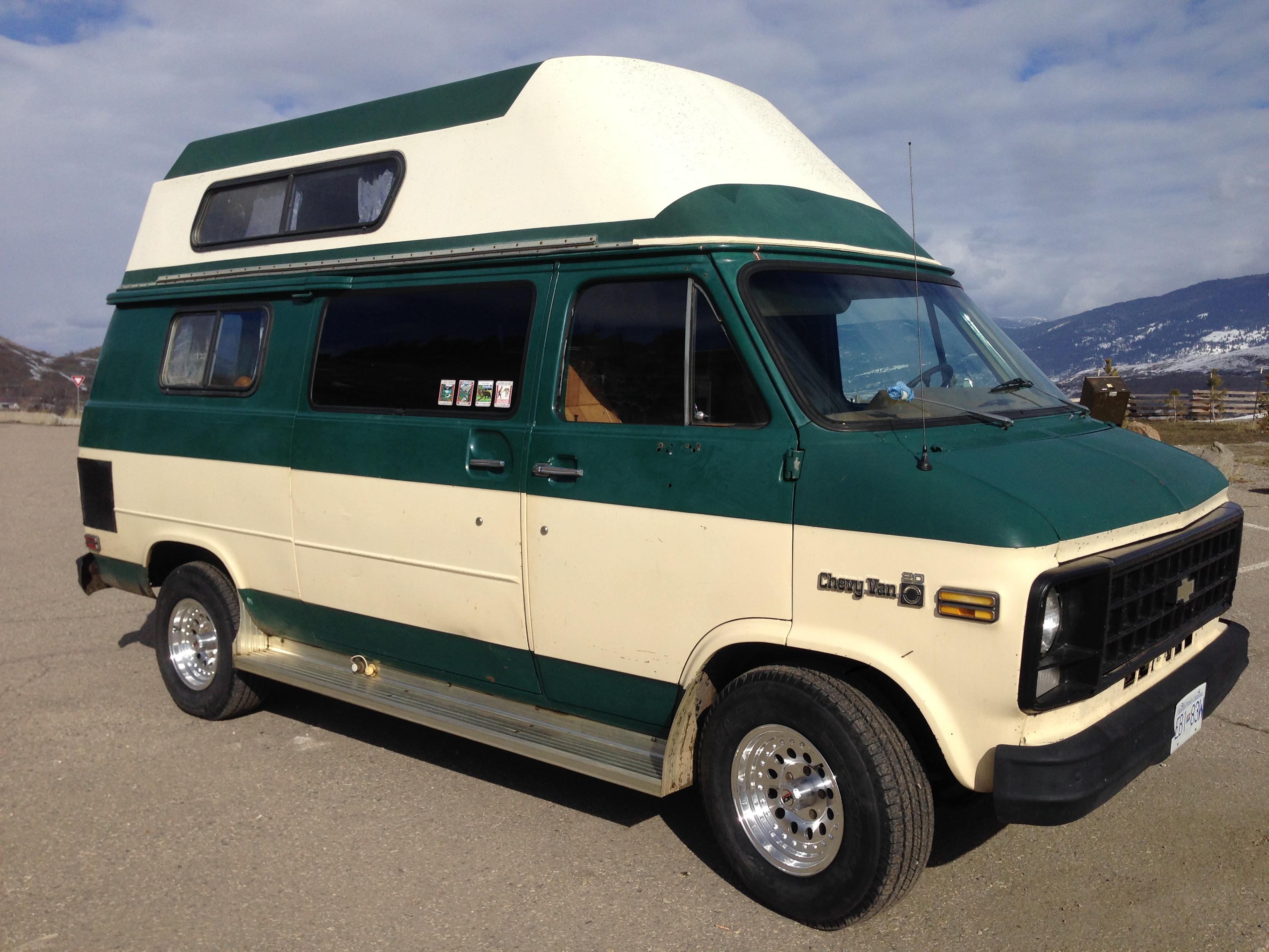 1980 R V C Chevrolet Camper Van Rental In Vernon Bc Outdoorsy