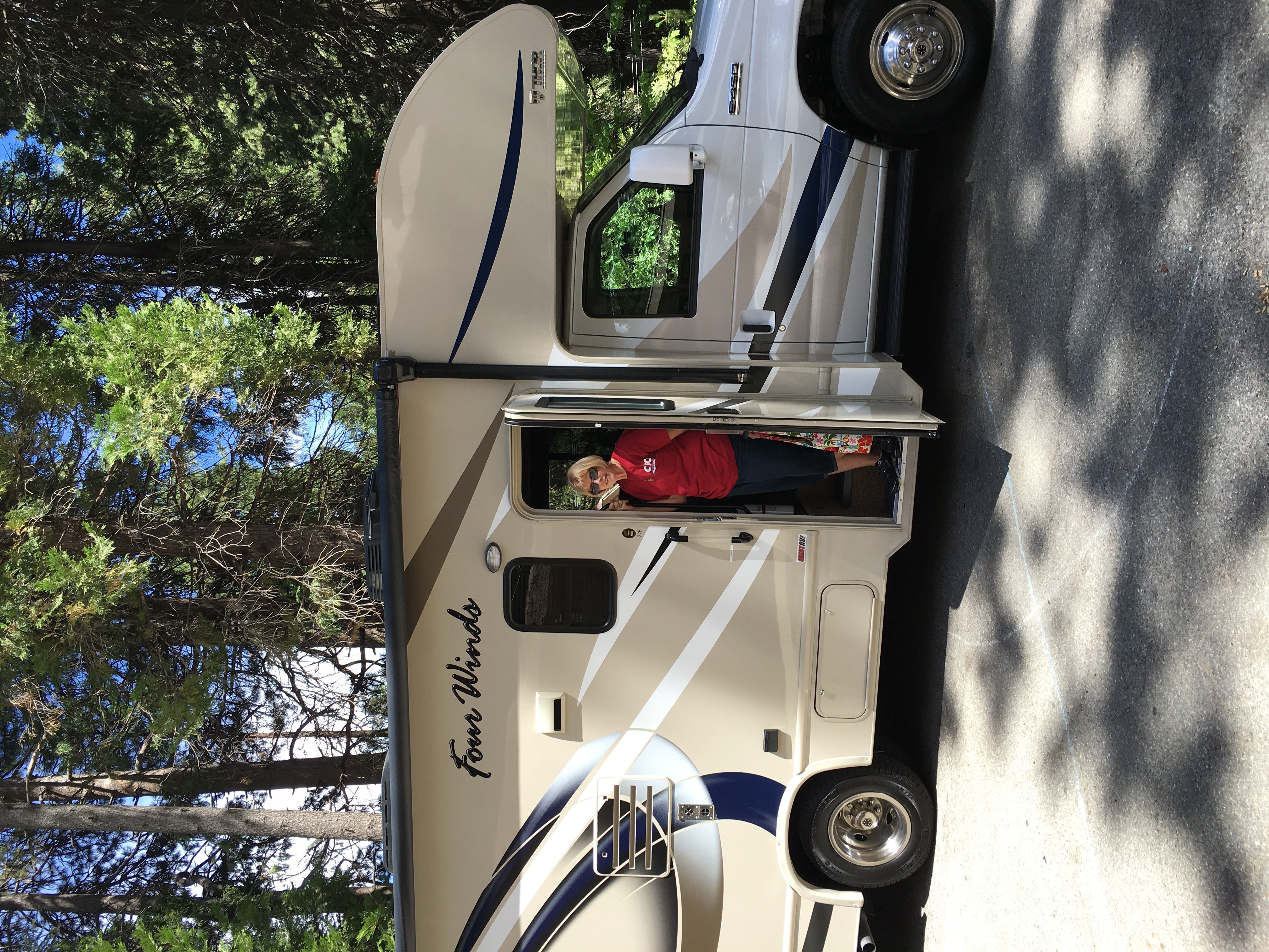 Welcome aboard  . Thor Motor Coach Fourwinds 2017