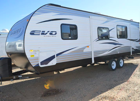 Evo T2550 - Triple Bunks