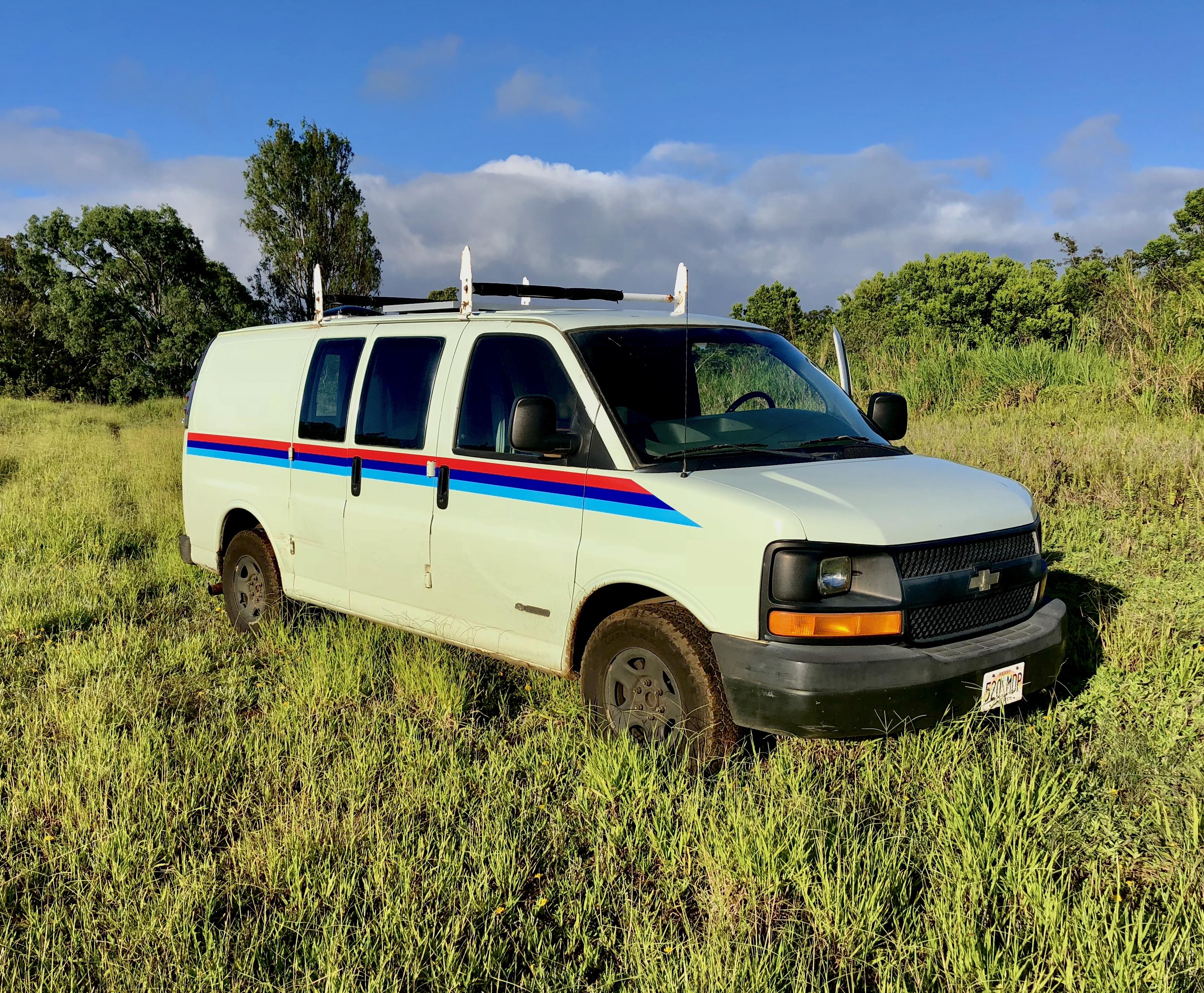 Maui Disco Campervan. Chevrolet 2500 Express Van 2003