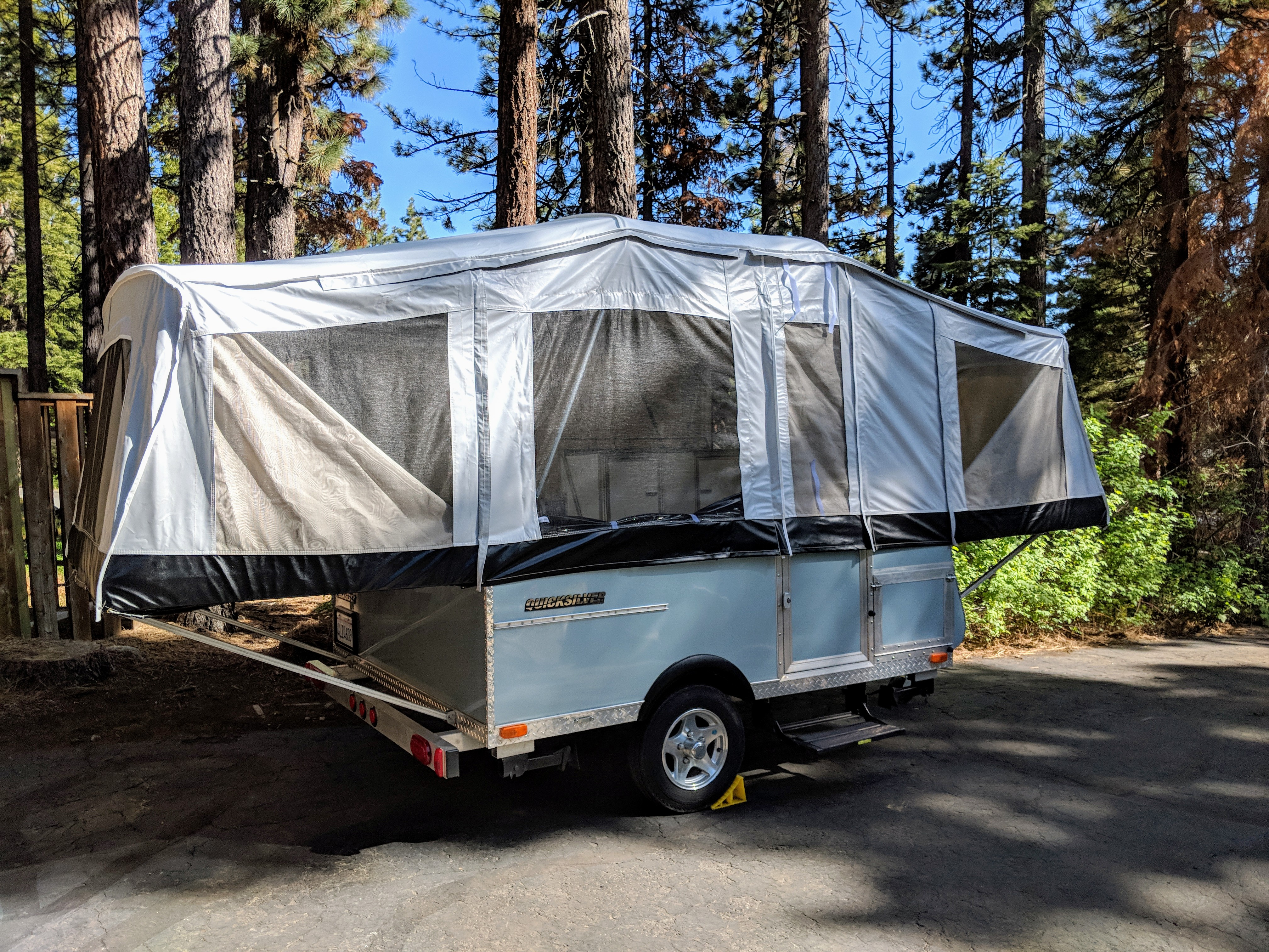 This is our 2010 Livn' Lite Quicksilver 8.0. It is in excellent condition and we are the second, non-smoking owners.. Livin' Lite 8 2010