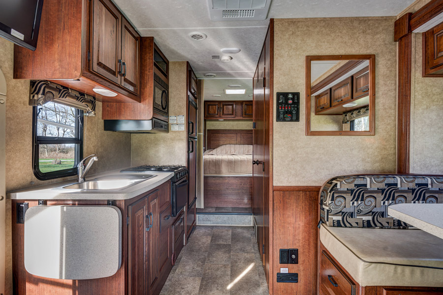 All the comforts of home.. Forest River Sunseeker 2012