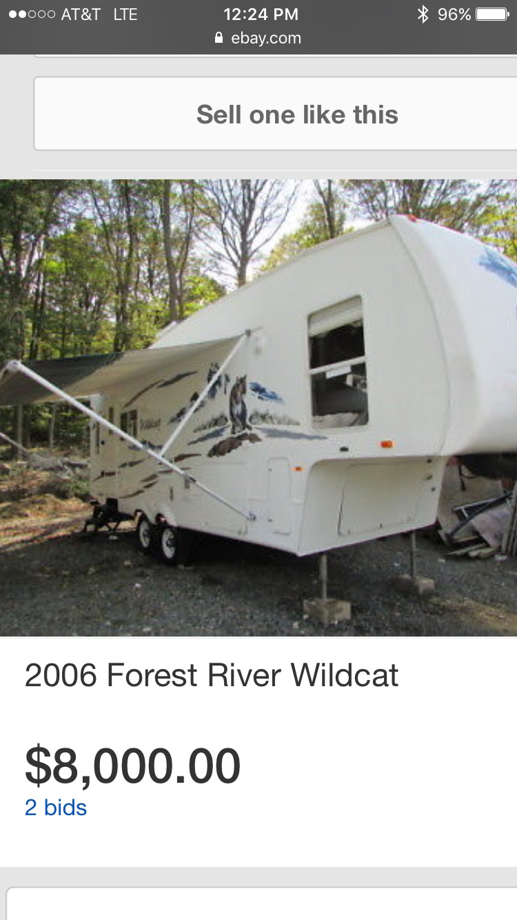 Forest River Wildcat 2006