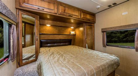 Queen Bed has an upgraded mattress for better comfort.. Grand Design Reflection 2017