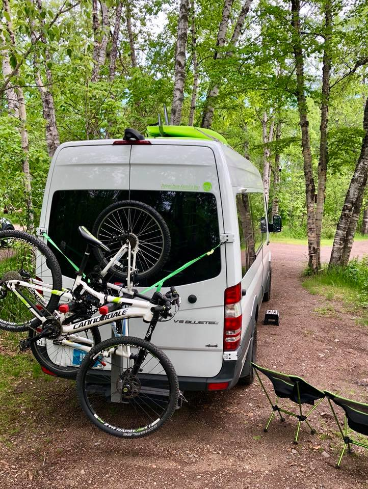 Northern Minnesota. Mercedes-Benz 4wd Sprinter Adventure Family Van 2016
