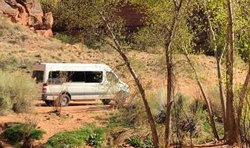 Moab Utah back country. . Mercedes-Benz 4wd Sprinter Adventure Family Van 2016