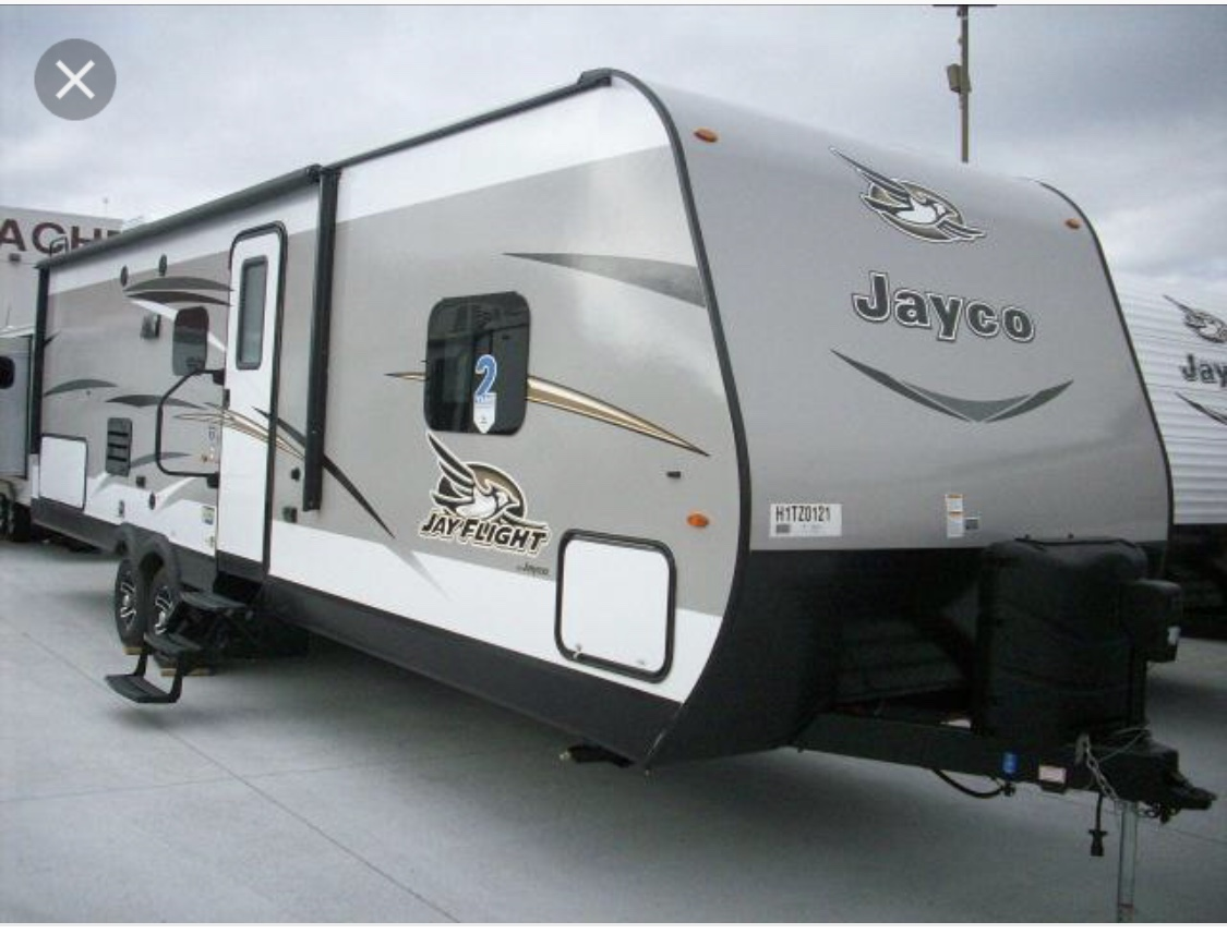 Camp in style. Jayco Jay Flight Bungalow 2017