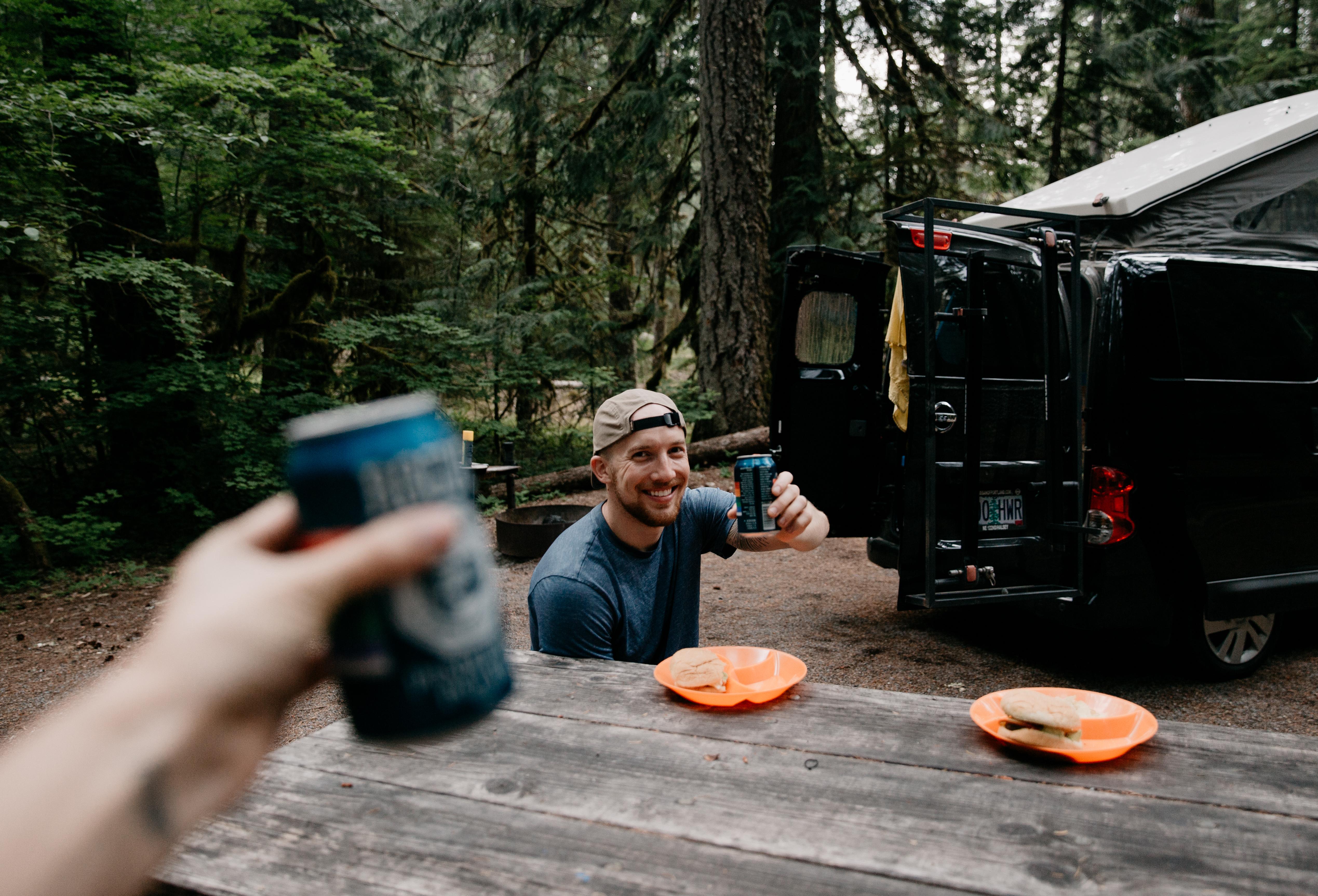 Vanna is the perfect adventure van for two people.. Nissan Camper Van 2015