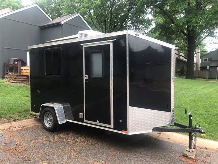 7' x 12' enclosed trailer. . Qualitec Yukon 2015