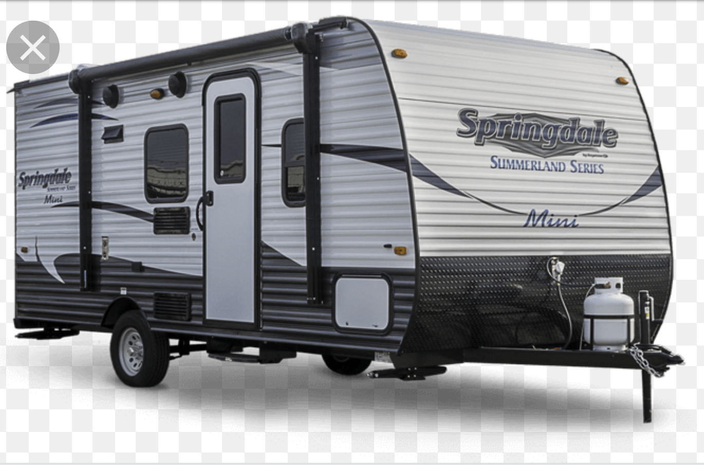 This trailer is like brand new.  There is a video of this make and model on youtube if you want to check out the interior.. Keystone Summerland 2017
