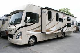 Whole Driver side slide creates a magic indoor space. Thor Motor Coach A.C.E 2015