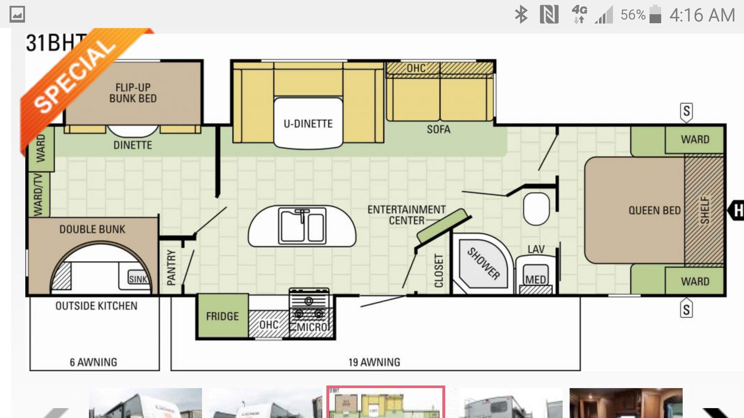 Floor Plan - Interior . Starcraft Launch 2017
