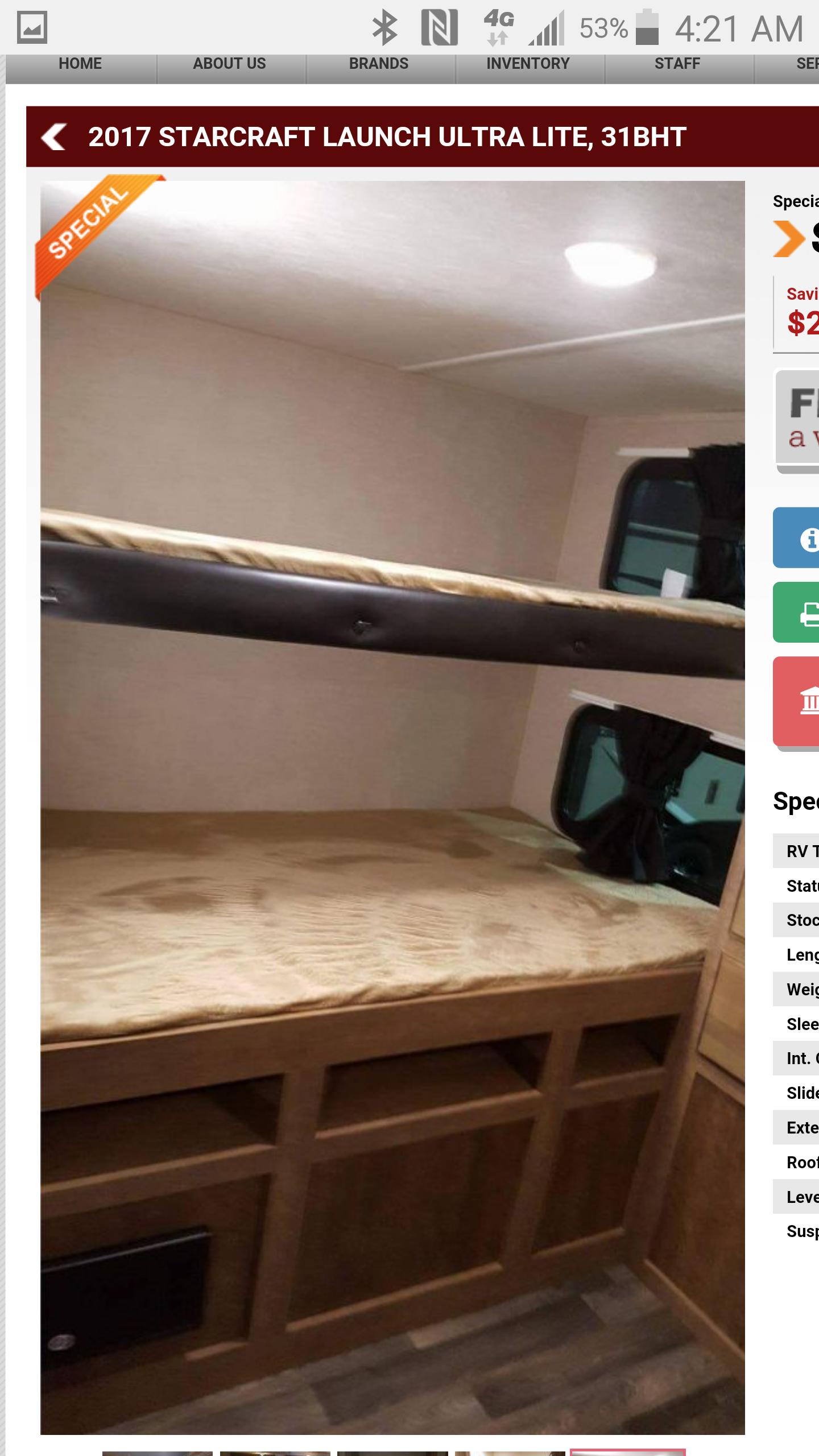 Kids Room - Bunk Beds. Starcraft Launch 2017